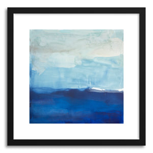hide - Art print Drifting by artist Julia Contacessi in white frame