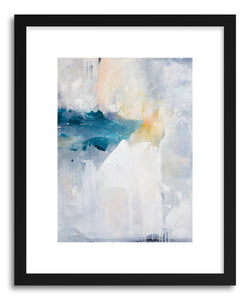 hide - Art print Light House by artist Julia Contacessi in white frame