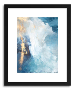 hide - Art print Aurora by artist Julia Contacessi in natural wood frame