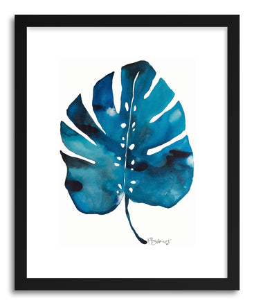 Fine art print Split Leaf Philodesdron Two by artist Kate Roebuck