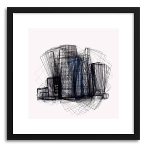 hide - Art print Cityscape No.4 by artist Marcos Rodrigues on fine art paper