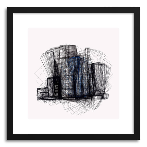 Fine art print Cityscape No.4 by artist Marcos Rodrigues