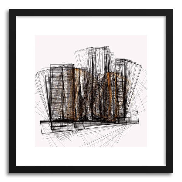 Fine art print Cityscape No.6 by artist Marcos Rodrigues