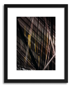 hide - Art print Einsturzende-Neubauten No.3 by artist Marcos Rodrigues in natural wood frame