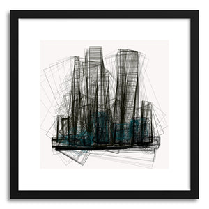 hide - Art print Cityscape No.2 by artist Marcos Rodrigues on fine art paper