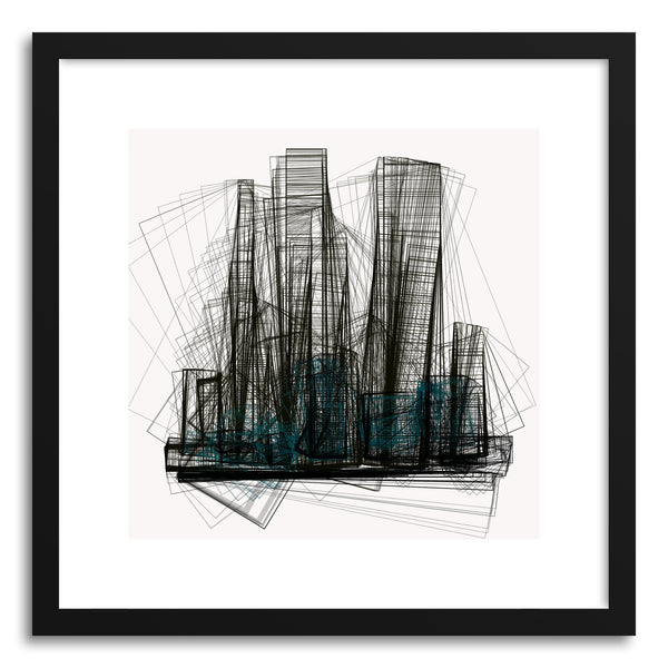 Fine art print Cityscape No.2 by artist Marcos Rodrigues
