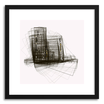 Fine art print Cityscape No.3 by artist Marcos Rodrigues