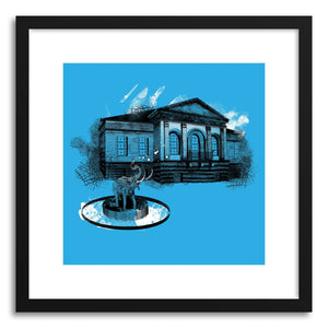 Fine art print House With Elephant Fountain by artist Paul Virlan