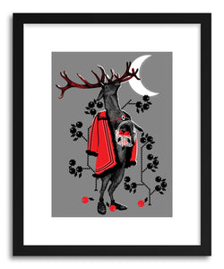 Fine art print Blackleg Deer by artist Paul Virlan