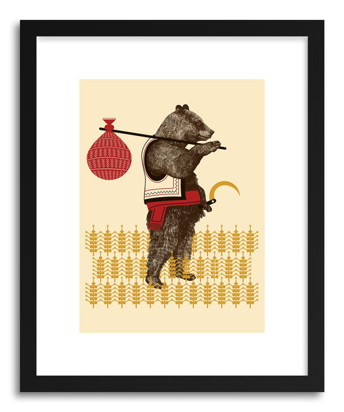 Fine art print Country Bear by artist Paul Virlan