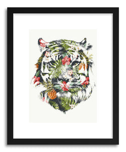 Fine art print Tropical Tiger by artist Robert Farkas
