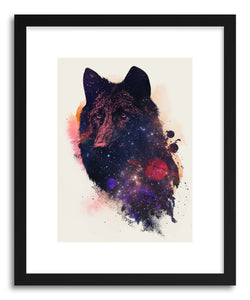 hide - Art print Universal Wolf by artist Robert Farkas on fine art paper