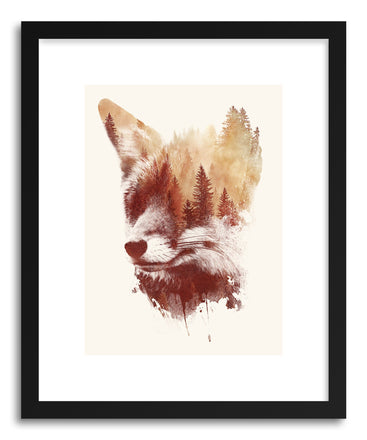 Fine art print Blind-Fox by artist Robert Farkas