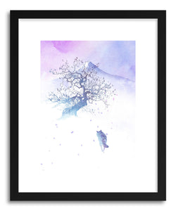 Fine art print Long Way To Fuji by artist Robert Farkas