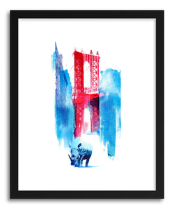 Fine art print Manhattan Bridge by artist Robert Farkas