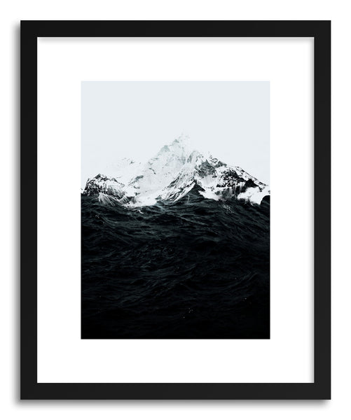 Fine art print Those Waves Were Like Mountains by artist Robert Farkas