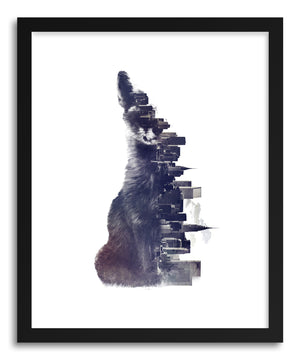 Fine art print Fox From The City by artist Robert Farkas