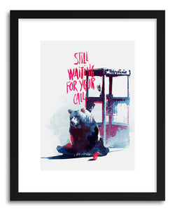 Fine art print Still Waiting For Your Call by artist Robert Farkas