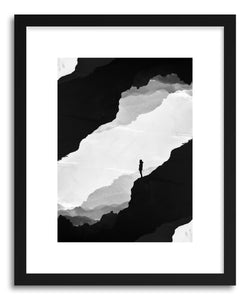 hide - Art print White Isolation by artist Stoian Hitrov on fine art paper