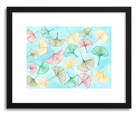 Art print Gingko by artist Sylvie Lee