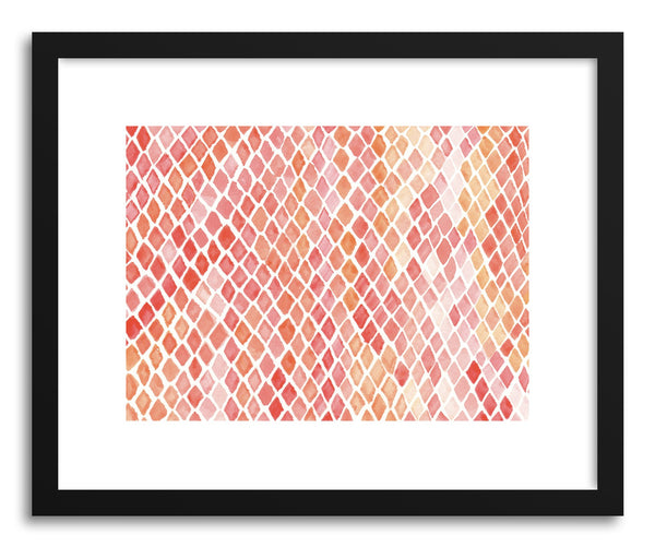 Art print Snakeskin by artist Sylvie Lee