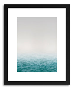 Fine art print Teal Waves by artist Sylvie Lee