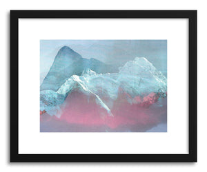 hide - Art print Untitled20141007q by artist Tchmo in white frame