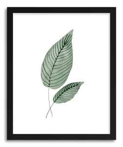Fine art print Two Leaves Tap by artist Tiffany Wong