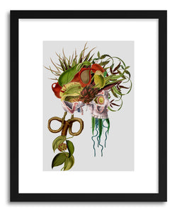 hide - Art print Deathshead by artist Travis Bedel on fine art paper