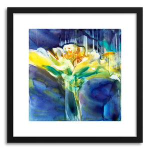 hide - Art print Envy Zinnia by artist Yevgenia Watts on fine art paper
