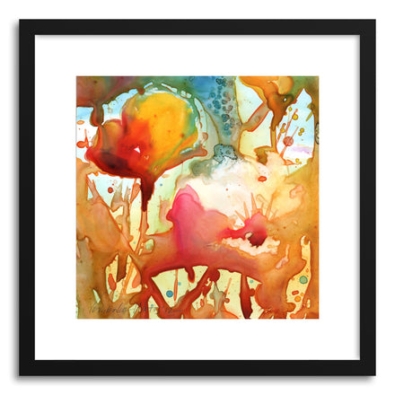 Fine art print Poppies by artist Yevgenia Watts
