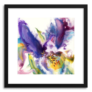 Fine art print Purple Iris by artist Yevgenia Watts