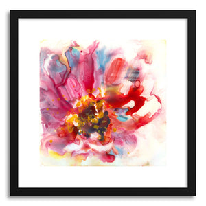 hide - Art print Zinnia by artist Yevgenia Watts on fine art paper