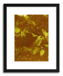hide - Art print Fall's Arrival by artist Erica Popp in natural wood frame