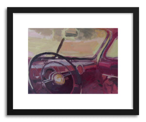 hide - Art print 20 Has a lot of Memories Baby by artist Mary Sinner in white frame