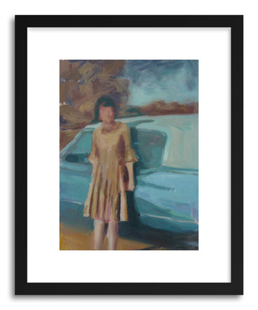 Fine art print Lady By Cadi by artist Mary Sinner