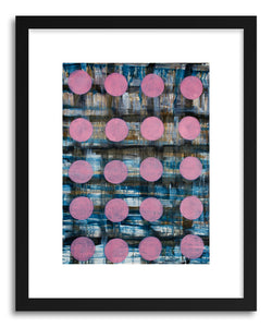 hide - Art print Pink Plaid by artist Marie Kazalia on fine art paper