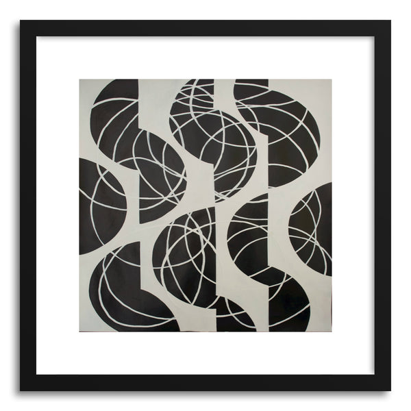 Fine art print Black And White Series No.1 by artist Marie Kazalia