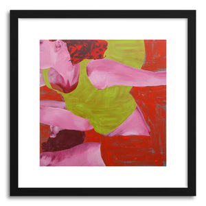Fine art print Green Shirts by artist Dina Levy