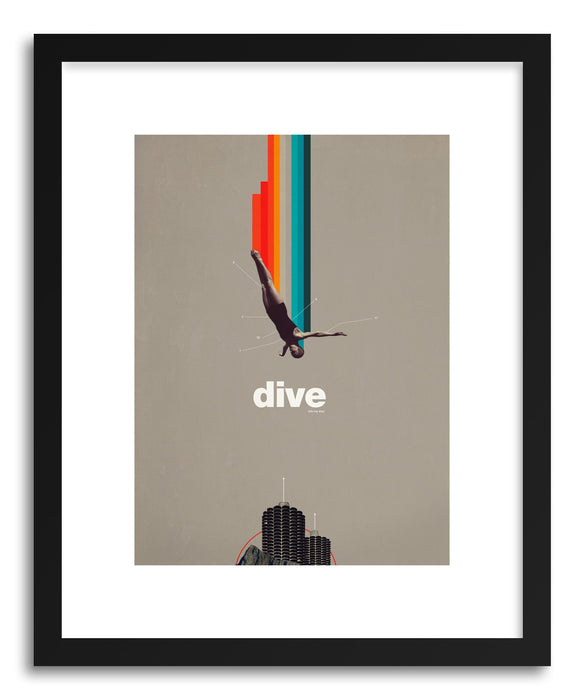 Fine art print Dive Into My Soul by artist Frank Moth