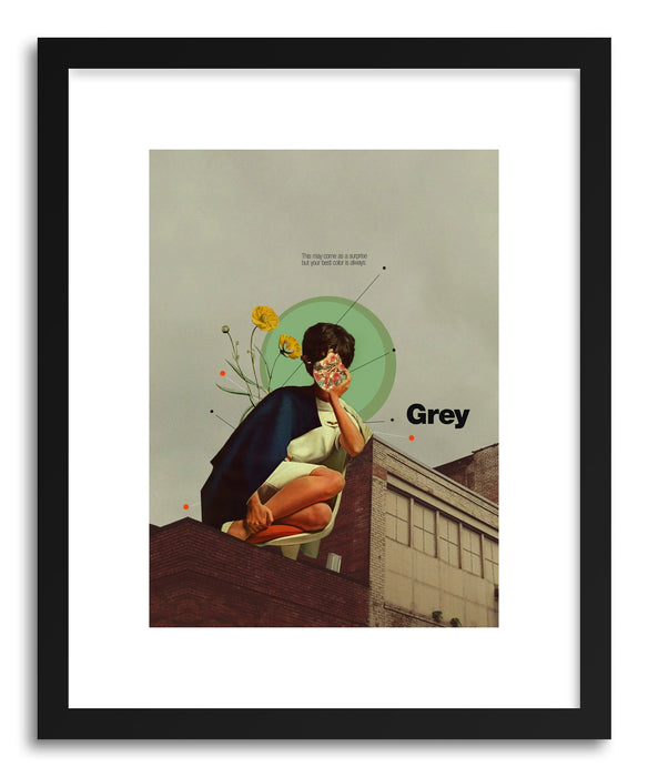 Fine art print Grey by artist Frank Moth