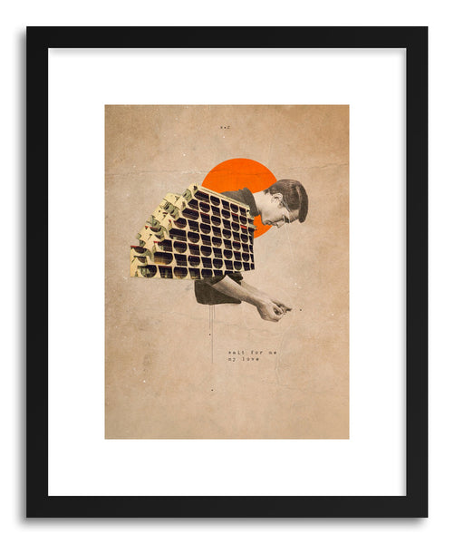 Fine art print Wait For Me by artist Frank Moth