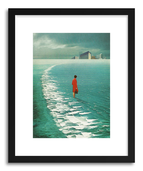 Fine art print Waiting For The Cities To Fade Out by artist Frank Moth