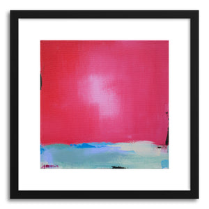hide - Art print Some Kind Of Wonderful by artist Jacquie Gouveia in white frame
