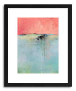 hide - Art print A Familiar Unknown by artist Jacquie Gouveia in white frame