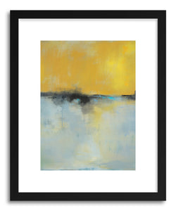 hide - Art print Melted Like Butter by artist Jacquie Gouveia in natural wood frame