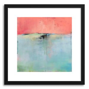 hide - Art print A Familiar Unknown by artist Jacquie Gouveia in natural wood frame