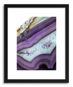 Fine art print Purple Agate by artist Emanuela Carratoni