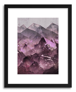 Fine art print Quartz Mountains by artist Emanuela Carratoni