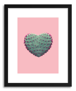 Fine art print Heart Of Cactus by artist Emanuela Carratoni